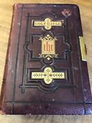 Antique Ruby Reference Bible Circa 1800's William Collinsandson London