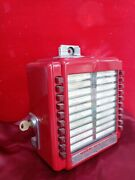 Stunning Seeburg Wallbox 3w2-l56 From  1940s  Excellent Condition Repainted