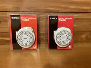 New Timex Preset Christmas Vacation Timer W/ 7 Day Preset Cycle Tx12885x