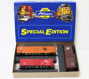Athearn Special Edition 2318 Central Of New Jersey 2-40 Box 1-50 Box W/upgrades