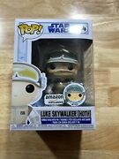 Funko Pop Star Wars Hoth Luke Skywalker With Pin 34