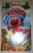 Sesame Street - The Adventures Of Elmo In Grouchland - Elmoand039s 1st Movie Vhs Tape