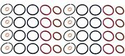 48 Pcs For 8 Cylinder Injector O Ring Seal Repair Kit 94-03 Ford 7.3l 7.3 Diesel