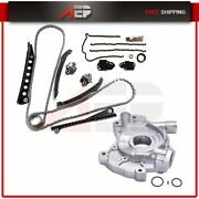 For 04-14 Ford F150 Lincoln Navigator Timing Chain Cover Gasket Kit Oil Pump