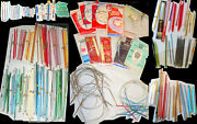 Lot 400 Knitting Needles All Sizes Materials Crochet New And Pre Owned