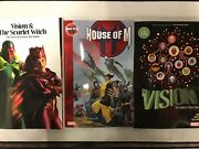 Wanda Vision Tpb Lot Scarlet Witch H House Of M Tom King Avengers X-men Compelte