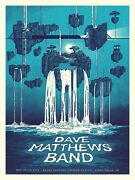 Dave Matthews Band Poster 10/18-20/19 Sioux Falls Sd Signed And Numbered /25 A/p