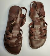 Brand New Leather Jolly Knocker Roman Sandals Free Shipping In The Usa