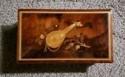 Vintage Reuge 72 Note Music Box-plays Hungarian Rhapsody By Lisztsee Video