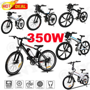 12/26/27.5and039and039 E-bike 25mph 21 Speed Gears Electric Bike For Adults Commuter Bike