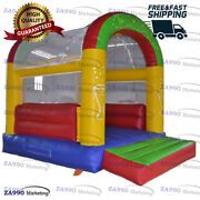 13x10ft Inflatable Bounce House Bouncy Castle Bouncer With Air Blower