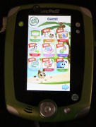 Leappad 2 Green Tablet With No Games, Stylus, Purple Case,  And Wall Charger