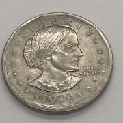 1979 Susan B Anthony 1 One Dollar Coin Ungraded/circulated 1