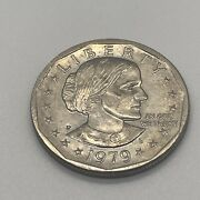 1979 Susan B Anthony 1 One Dollar Coin Ungraded/circulated 3