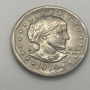 1979 Susan B Anthony 1 One Dollar Coin Ungraded/circulated 8