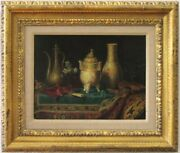 Milne Ramsey - Still Life With Censer Ewer And Oriental Porcelain
