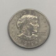 1979 Susan B Anthony 1 One Dollar Coin Ungraded/circulated 11
