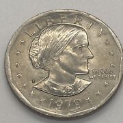 1979 Susan B Anthony 1 One Dollar Coin Ungraded/circulated 12