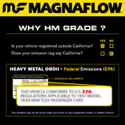 Magnaflow 24066 Exhaust Manifold With Integrated Catalytic Converter