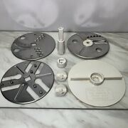 Vintage Sears Counter Craft Food Processor 400 Blades Stem Replacement Parts