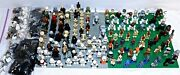 Lego Star Wars Lot 150+ Minifigures And Weapons Yoda Darth Han Ewok Storm Troopers