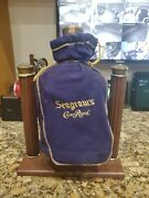 Crown Royal Swinging Handle Bottle Decanter Pouring Display