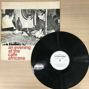 [used Lp]remo Rau Quartet/an Evening At The Cafe Africanarr1