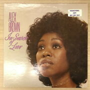 [used Lp]alex Brown Soul/in Search Of Lovesd5001