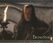 John Noble As Denethor - Lord Of The Rings Genuine Signed Autograph