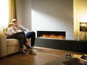 Hole In Wall Recessed Mounted Hung Electric - Flamerite Fires Gotham 1300 Nitra