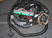 And039newand039 Blue/green Ls-1 Ls-6 Stand Alone Motor And Trans Wire Harness 24-x Ignition