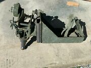 M23 Cradle And Ammo Tray For 50 Cal M2hb Refurbished With Nos Bracket And All 3 Pins