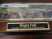 Sports Impressions Andndash Wrigley Field Andndash Artist Bill Purdom Numbered Edition Collect