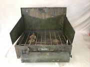 Vintage Sears Model 742 6182 2-burner Camp Stove Early Model Made In Usa