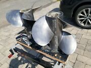 Bravo Iii Stainless Steel Propellers 22 Pitch Per Set