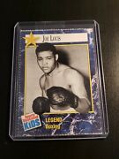 Joe Louis 1991 Sports Illustrated For Kids 316 Heavyweight Boxer Brown Bomber
