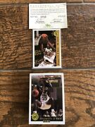 1992 Classic Draft Picks Gold Shaquille O'neal Signed Auto Rookie Card