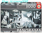 Educa Abstract Paint Guernica Renoir 3000 Adult Stress Relief Puzzles Toys New