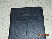 Antique New Testament Bible Translated Out Of The Original Tongues World Syndic