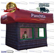 13x13ft Inflatable Food Drink Concession Stand Tent Candy Booth With Air Blower