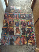 Lot Of 22 Wwf Spotlight Magazines 1-22 With Posters .great Condition Make Offer