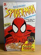 Ralston Spiderman Cereal From 1995 With Ultra Fleer Card Inside