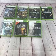 7 Titles Call Of Duty Ghost Recon Medal Of Honor Battlefield Microsoft Xbox 360