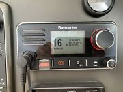 Raymarine Ray60 Vhf Radio With 2nd Station Handheld Kit Excellent Condition
