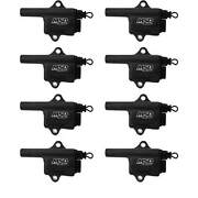 Msd Ignition Coil Black Pro Power Gm Ls Truck Style 8-pack Coils - 828683
