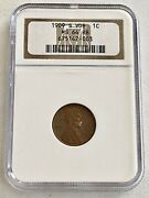 Buy This___1909-s- Vdb-ngc- Ms-64 Rb U.s. Lincoln Penny See Coins And Jewelry