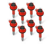 Msd Ignition Coils, 2016-2020 Ford Shelby Gt350/500 5.2l, Red, 8-pack - 824528