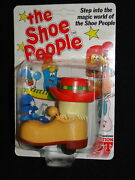 Rare Unpunched The Shoe People By Action Gt 1980and039s Cartoon Trampy