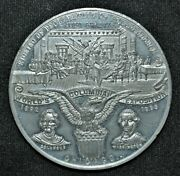 1892-93 Worldand039s Columbian Exposition Chicago - Large Medal Wm 58 Mm