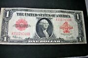 1923 One Dollar Red Seal